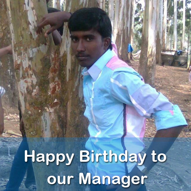Happy Birthday Nagarajan