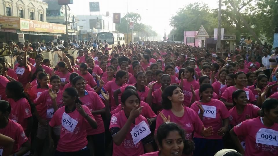 Pink Marathan - Nellai Help Line
