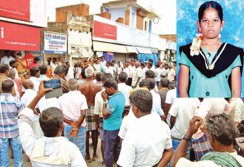 Wrong treatment claiming teenage girl dead in moolakaraipatti