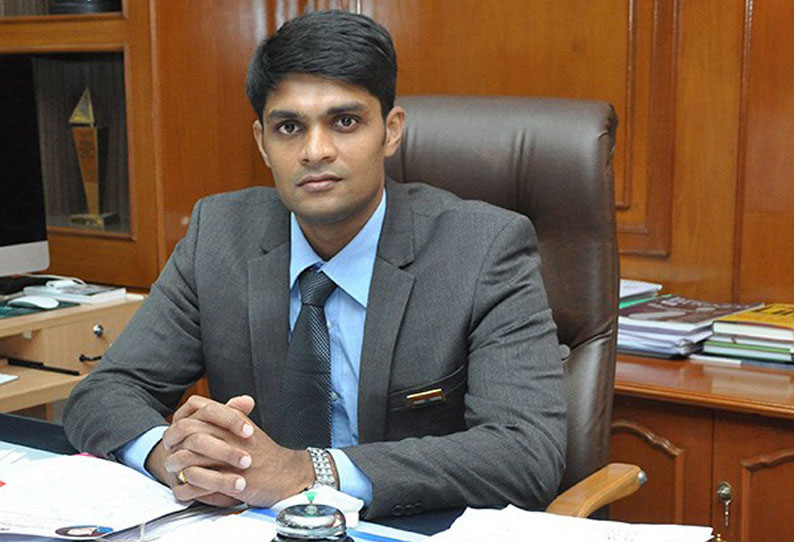 Collector Sandeep Nanduri